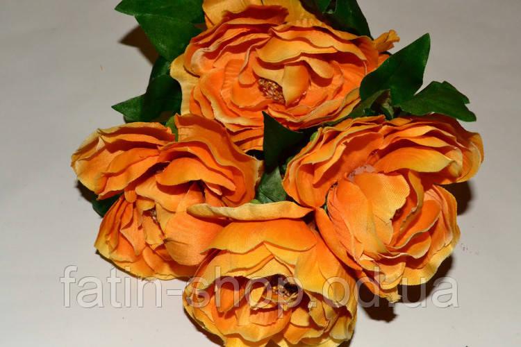 Букет Камелий светло-оранжевый