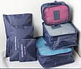 Набор дорожных органайзеров для одежды Monopoly Travel Biotech 6 предметов, фото 5