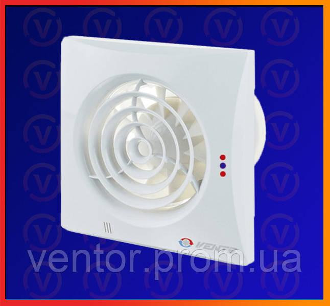 Вытяжной вентилятор Vents Квайт ВТ, D = 125мм