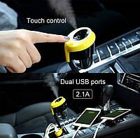 Автомобильный увлажнитель воздуха +2 USB Remax RT-C01 Black