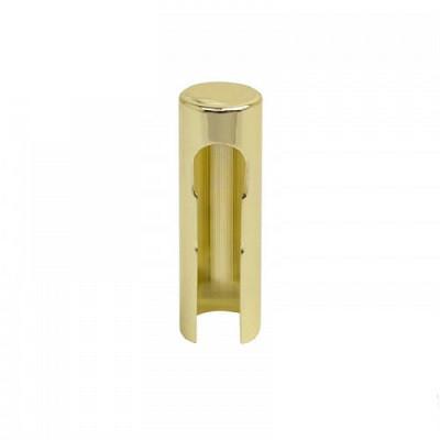 Декоративный колпачок на петлю D14 мм желтый