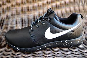 Мужские и женские кроссовки NIKE черные с белой галочкой Вьетнам