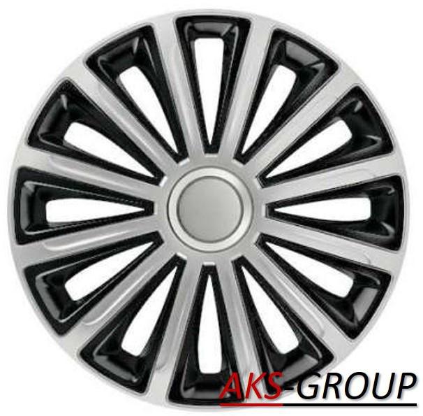 Колпаки R16  Versaco Trend Silver&Black