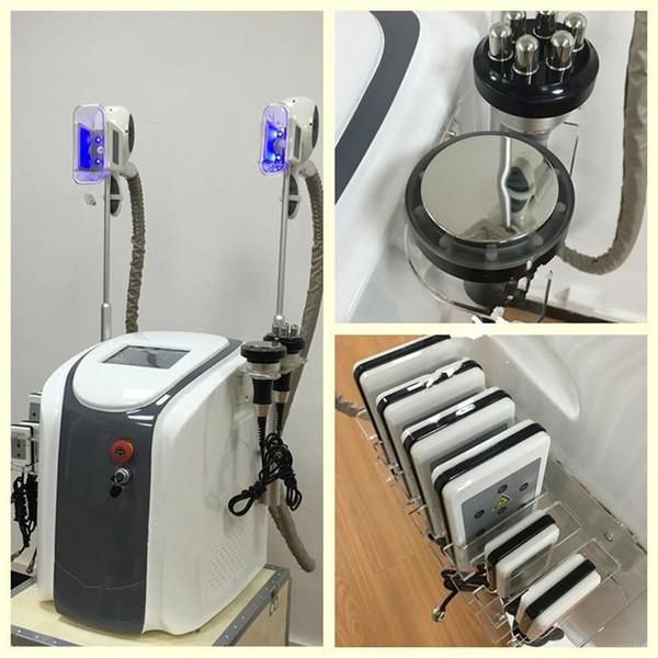 Аппарат 4 в 1: криолиполиз + кавитация + радиолифтинг и лазерный липолиз B0116