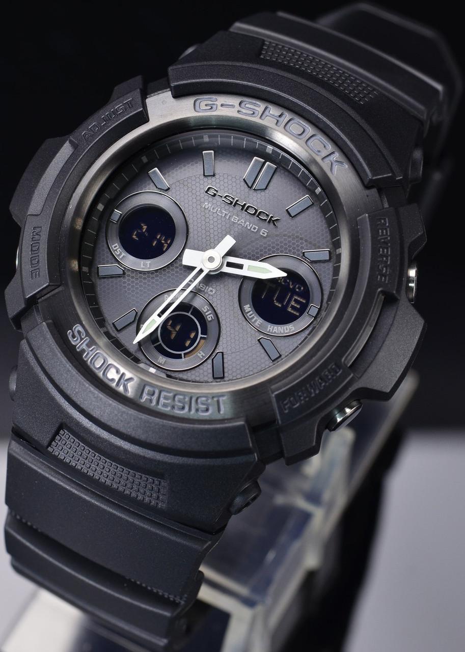 Часы Casio G-Shock AWG-M100B-1A Б.