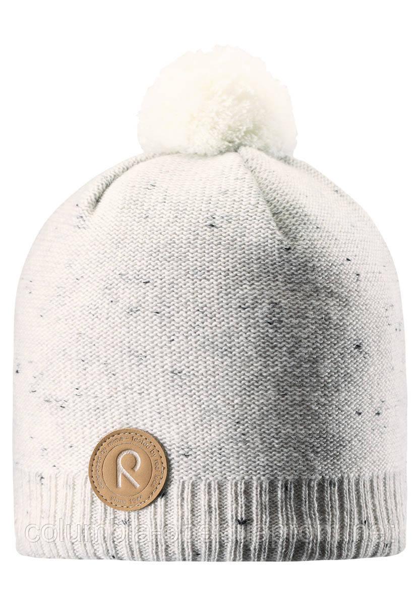Зимняя шапка для девочки Reima Kajaani 528563-0100. Размеры 50-56.