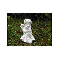 Статуэтка Ангел на сердце мал. (белый)