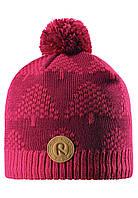 Зимняя шапка для девочки Reima Kajaani 528563-3560. Размеры 50-56., фото 1