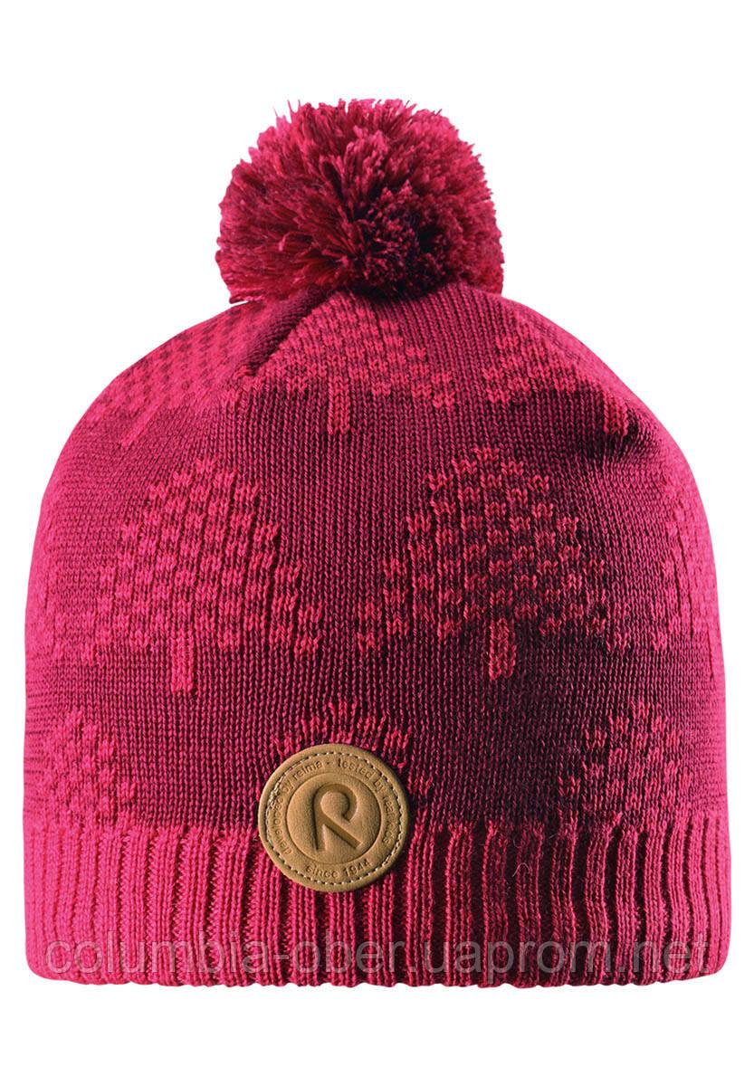 Зимняя шапка для девочки Reima Kajaani 528563-3560. Размеры 50-56.