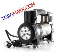 Автомобільний компресор URAGAN 35 л/хв 12 вольт (з LED ліхтарем), фото 1