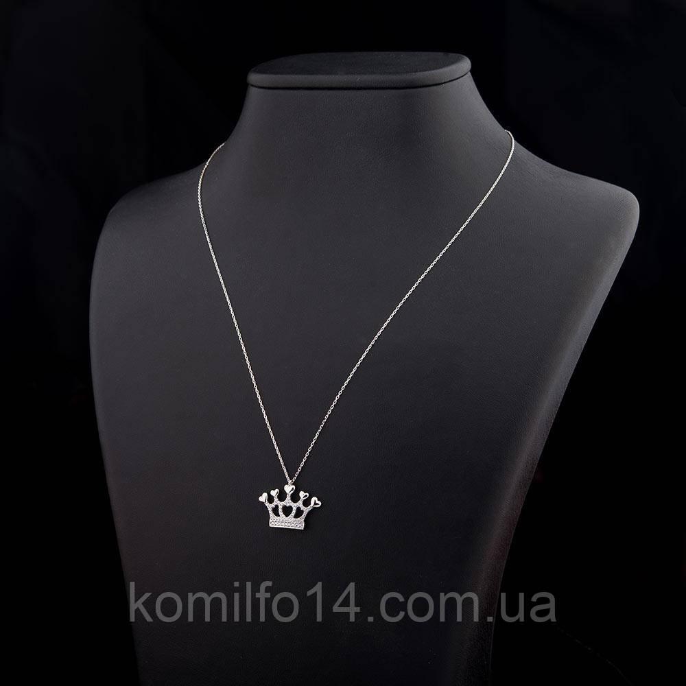 """Золотое колье """"Корона"""""""