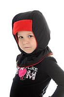 Непромокаемые шапки-шлемы и варежки