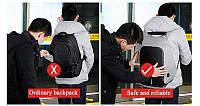 Рюкзак Антивор Bobby с USB зарядкой - рюкзак с защитой от воров