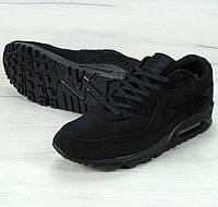 Зимние кроссовки Nike Air Max 90 VT Tweed FUR Winter с мехом. Живое фото (аир макс, аир макс)