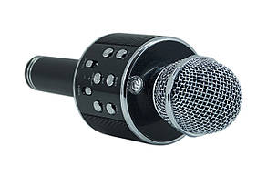 Беспроводной микрофон-караоке bluetooth WS-858(коробка)