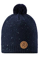 Зимняя шапка для мальчика Reima Kajaani 528563-6980. Размеры 50-56.