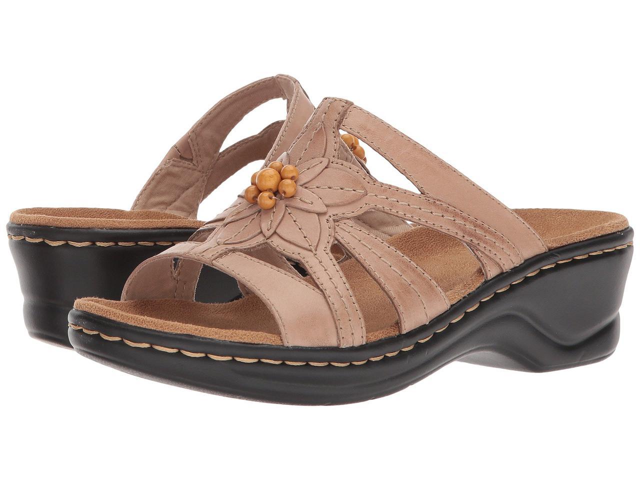 Туфли на каблуке (Оригинал) Clarks Lexi Myrtle Sand Leather