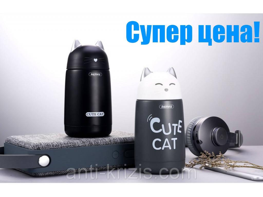 Термос Remax Cute Cat RT-CUP23 Black 330ml