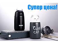 Термос Remax Cute Cat RT-CUP23 Black 330ml, фото 1