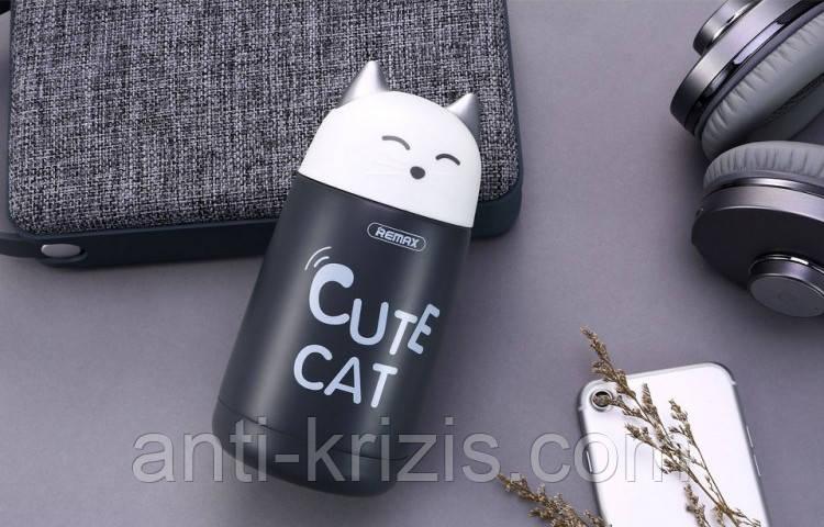Термос Remax Cute Cat RT-CUP23 Grey 330ml