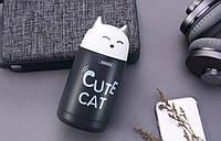 Термос Remax Cute Cat RT-CUP23 Grey 330ml, фото 1