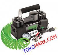 Автомобильный двухпоршневой компрессор URAGAN 85 л/мин 12 вольт