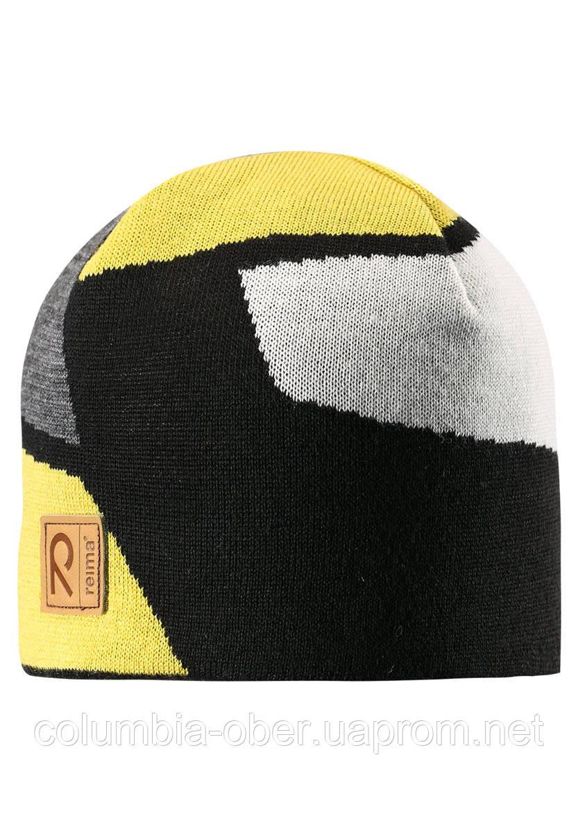 Зимняя шапка для мальчика Reima Kirnu 538028-2390. Размеры 54-56.