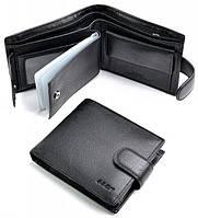 Мужское портмоне BK014-206 Black купить оптом и в розницу Одесса 7 км