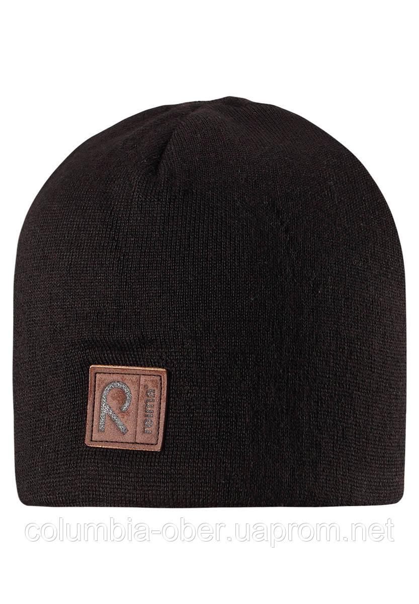 Зимняя шапка для мальчика Reima Kirnu 538028-9990. Размеры 54-56.