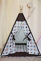 """Вигвам, детский игровой домик, палатка для детей, шатер, шалаш """"В лесу"""""""