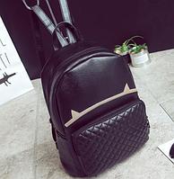 Рюкзак женский кожзам стеганный Fendi, фото 1