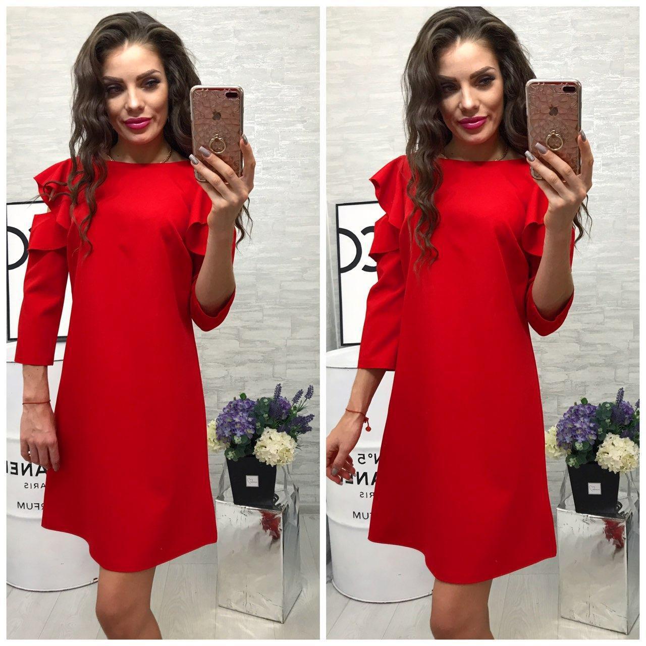 07d298a3274 Платье Модель 783 2 Красный — в Категории
