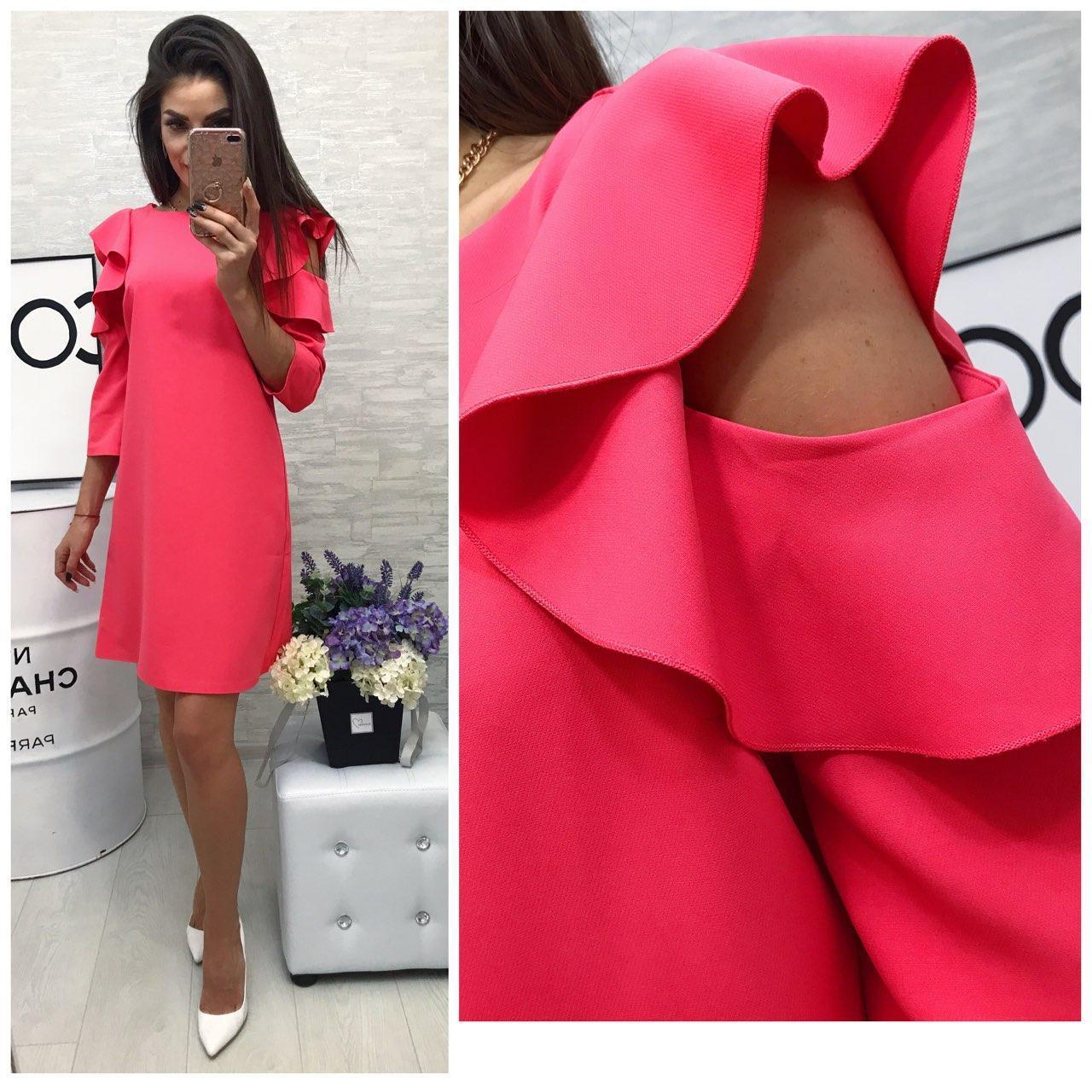 f4c3d986520 Платье модель 783 2 розовый  продажа
