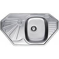 Кухонная мойка из нержавеющей стали Fabiano 85x47 Decor