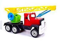 """Машина 05-403 С""""Мак"""" кран кольоровий (27.5х9х15см.) (Кіндер Вей 1/30)(Ч)"""