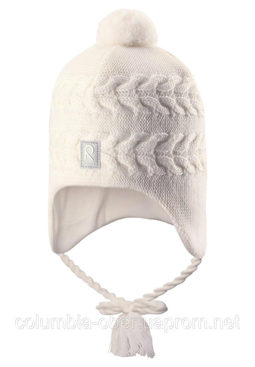 Зимняя шапка для девочки Reima Hiutale 518428-0100. Размеры 46 и 50.