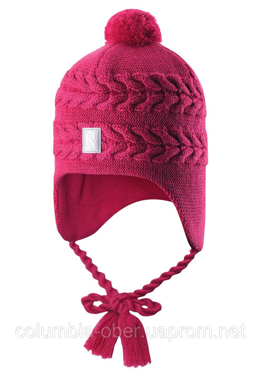 Зимняя шапка для девочки Reima Hiutale 518428-3920. Размеры 46 и 48.