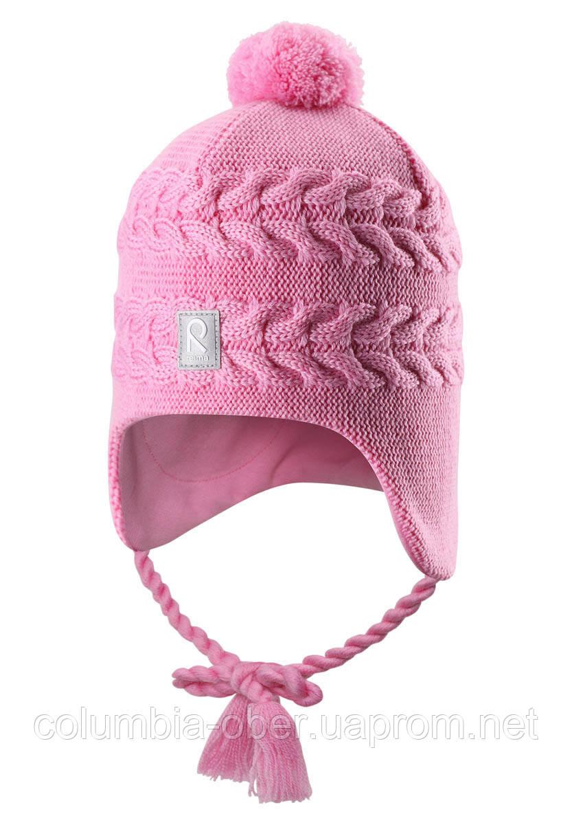 Зимняя шапка для девочки Reima Hiutale 518428-4190. Размер 48.