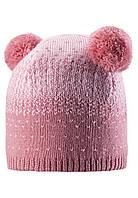Зимняя шапка для девочки Reima Saana 528551-4320. Размеры 50-56. , фото 1