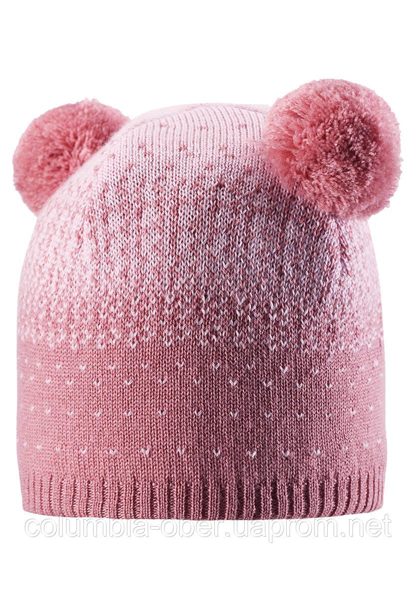 Зимняя шапка для девочки Reima Saana 528551-4320. Размеры 50-56.