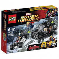 Конструктор 76030 LEGO Super Heroes Гидра против Мстителей