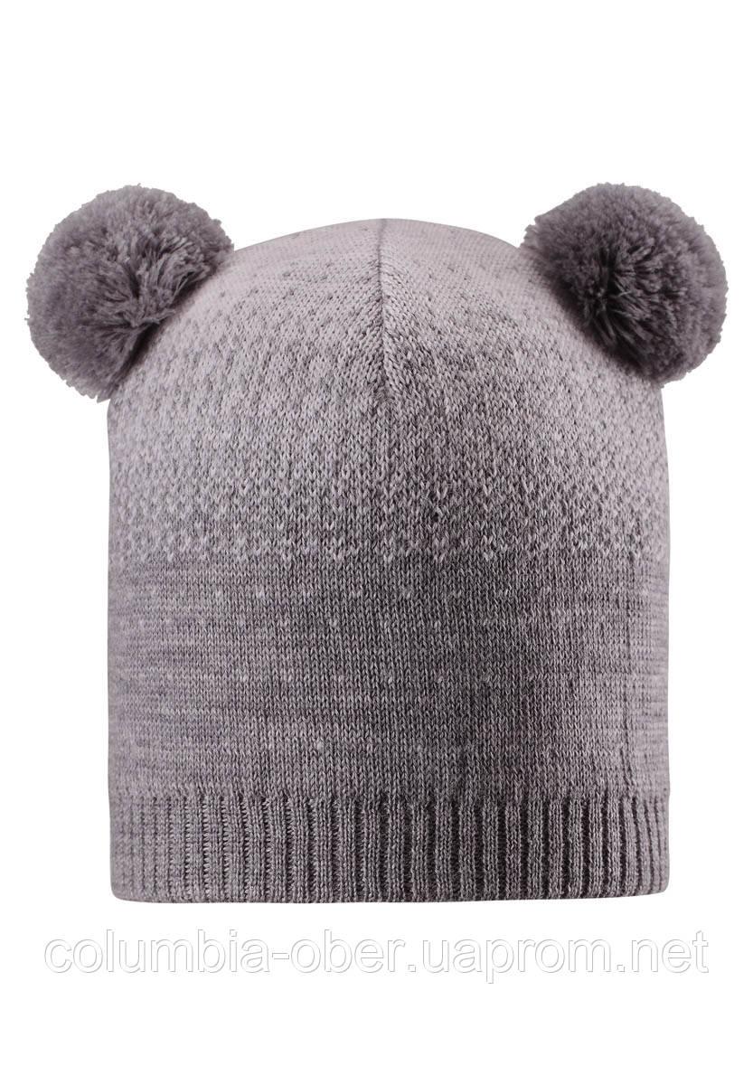 Зимняя шапка для девочки Reima Saana 528551-9730. Размеры 50-56.
