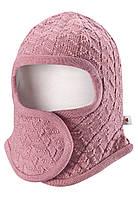 Детская зимняя шапка шлем для девочек Reima Littlest 518386-4320. Размер 34-44., фото 1