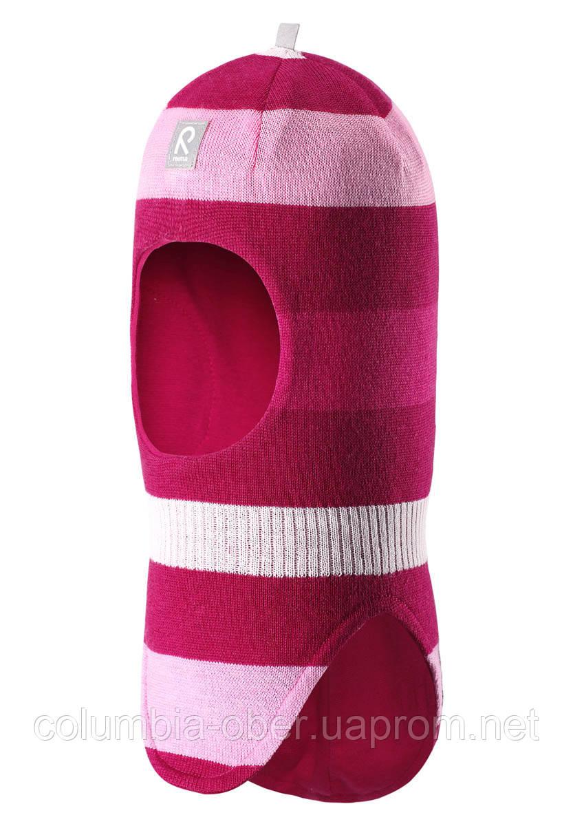 Зимняя шапка - шлем для девочки Reima Starrie 518422-3920. Размеры 46-50.