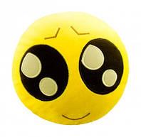 """Антистресова іграшка м`яконабивна """"SOFT TOYS """"SMILES"""" з великими очами, DT-ST-01-11( Ч )"""