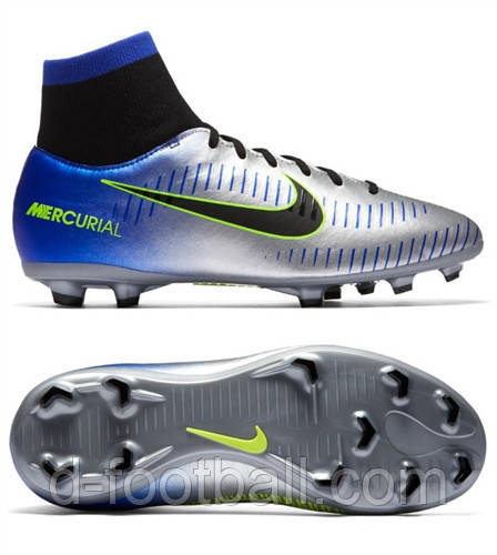7f4dba82e814 Детские футбольные бутсы Nike JR Mercurial Victory VI DF NJR FG 921486-407  - Интернет