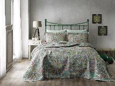 Tivolyo Home покрывало гобелен Kleos Зеленый (приглушенный) 250х260