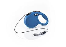 Рулетка Flexi NEW CLASSIC  CAT синяя