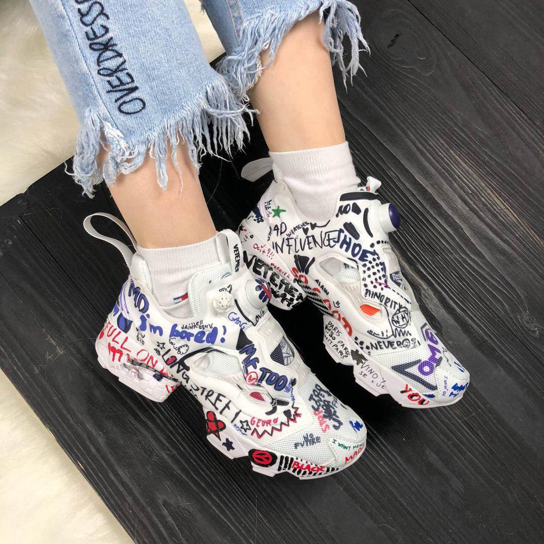 Женские кроссовки в стиле Reebok Insta Pump Fury