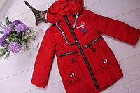 Куртка на девочку весна-осень ( р-ры 86 - 110 )